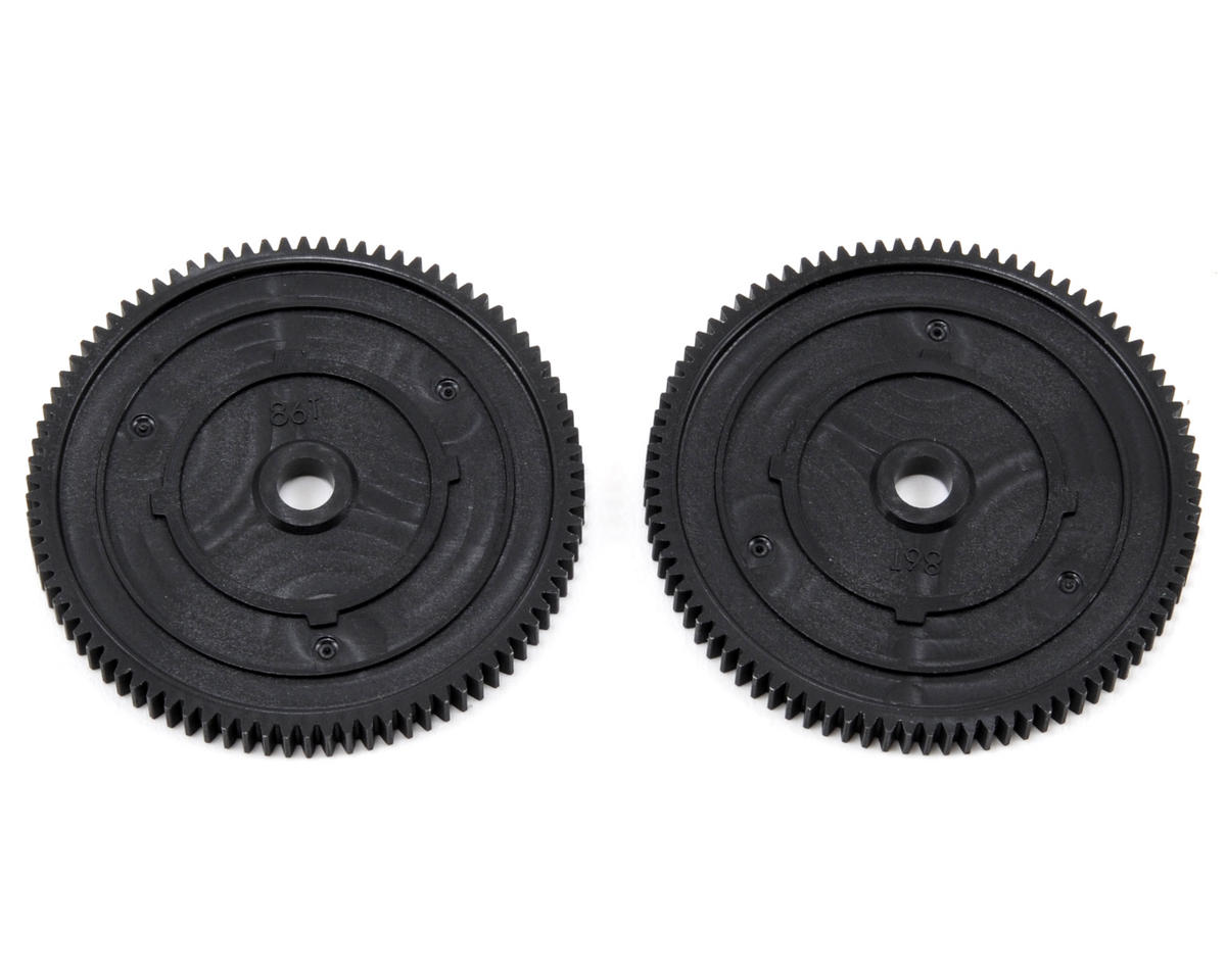 48P Spur Gear (86T) (2) by Vaterra