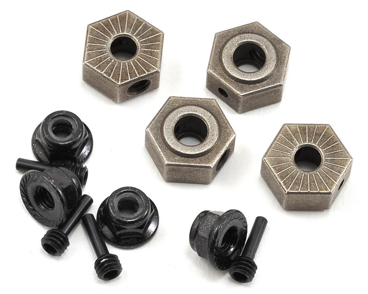 Wheel Hex, Pin & Lock Nut Set (4) by Vaterra