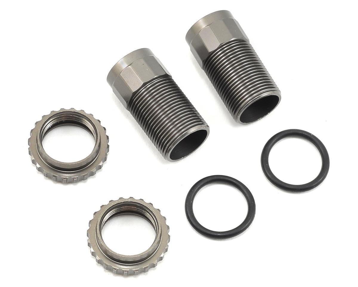 Vaterra Front Threaded Shock Body & Collar Set (2)