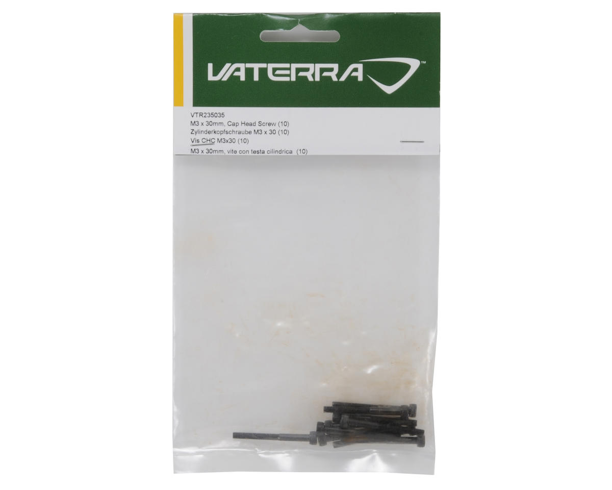 Vaterra 3x30mm Cap Head Screw (10)