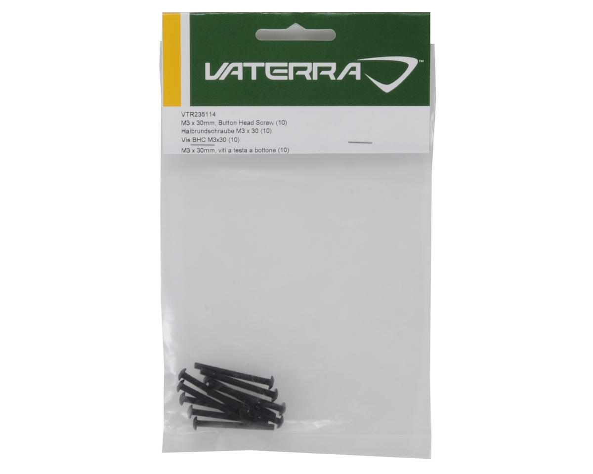 Vaterra 3x30mm Button Head Screw (10)