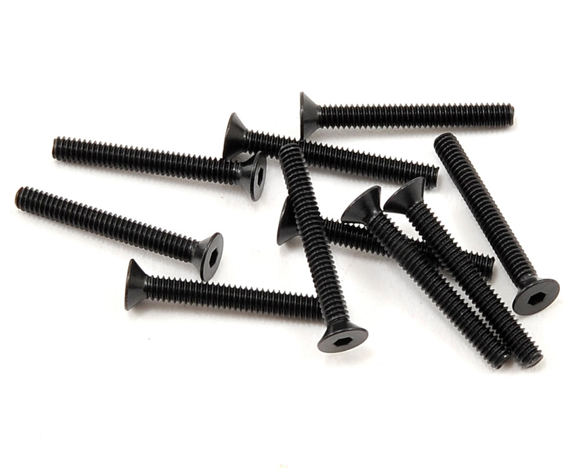 Vaterra 2x16mm Flat Head Screw (10)