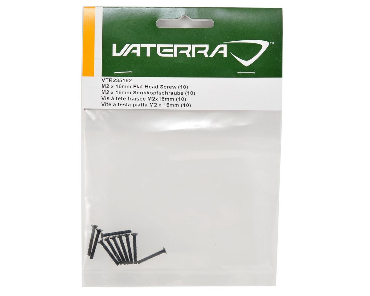 2x16mm Flat Head Screw (10) by Vaterra