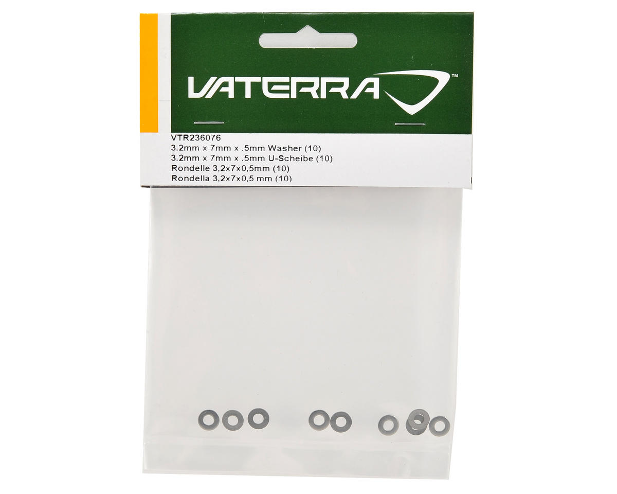 Vaterra 3.2x7x.5mm Washer (10)