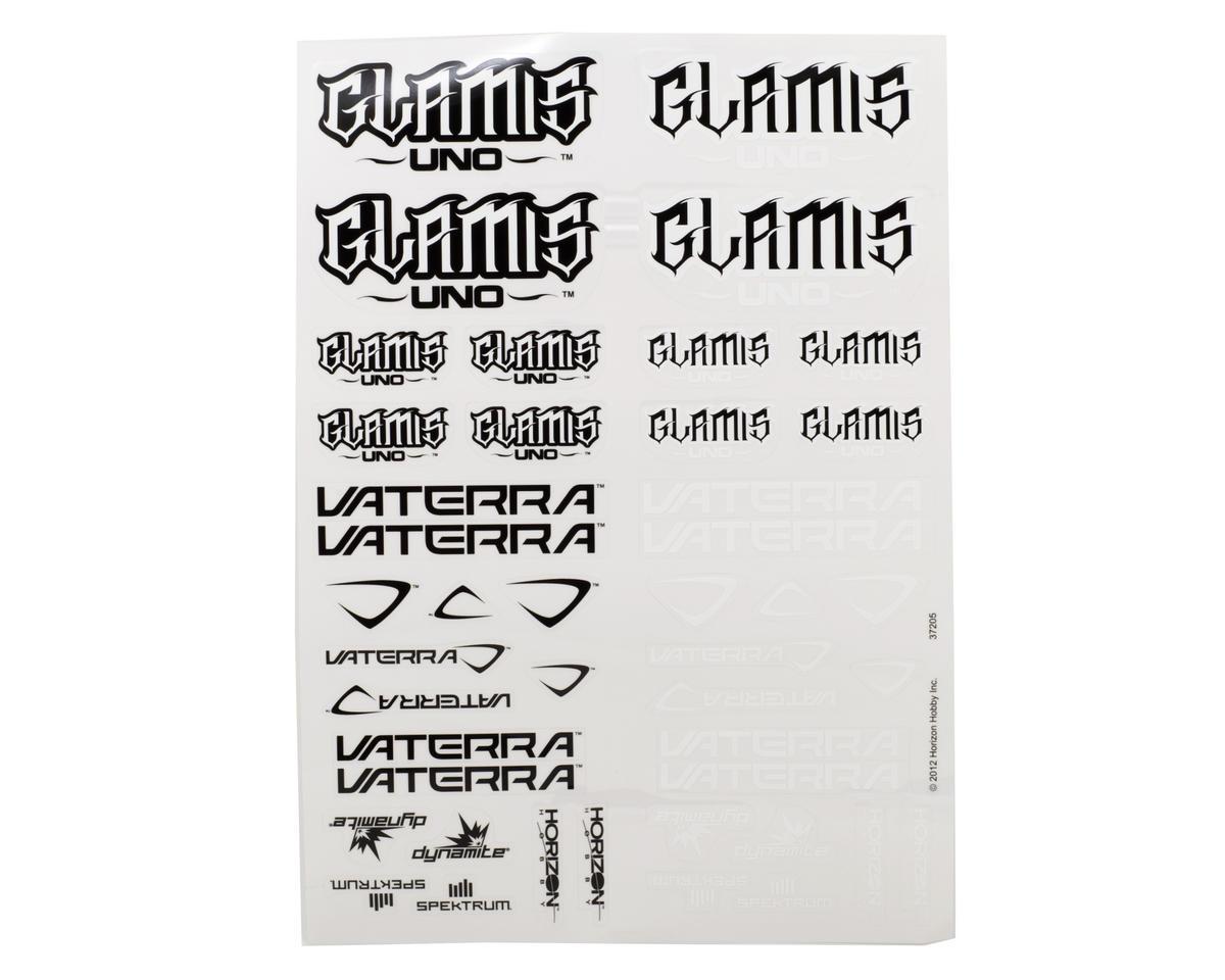 Vaterra Glamis Uno Sticker Sheet