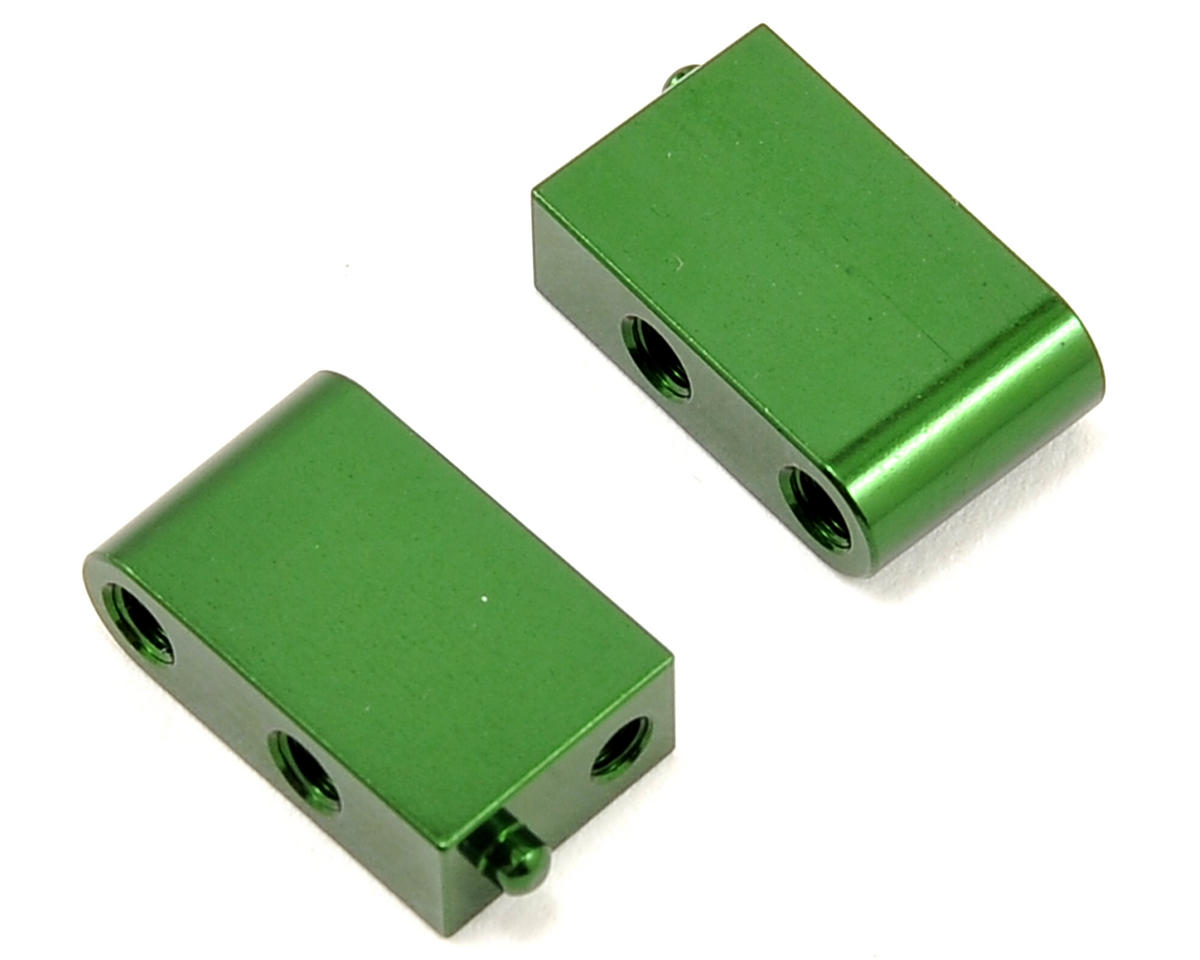 Vaterra Aluminum Servo Mount Set (Green)