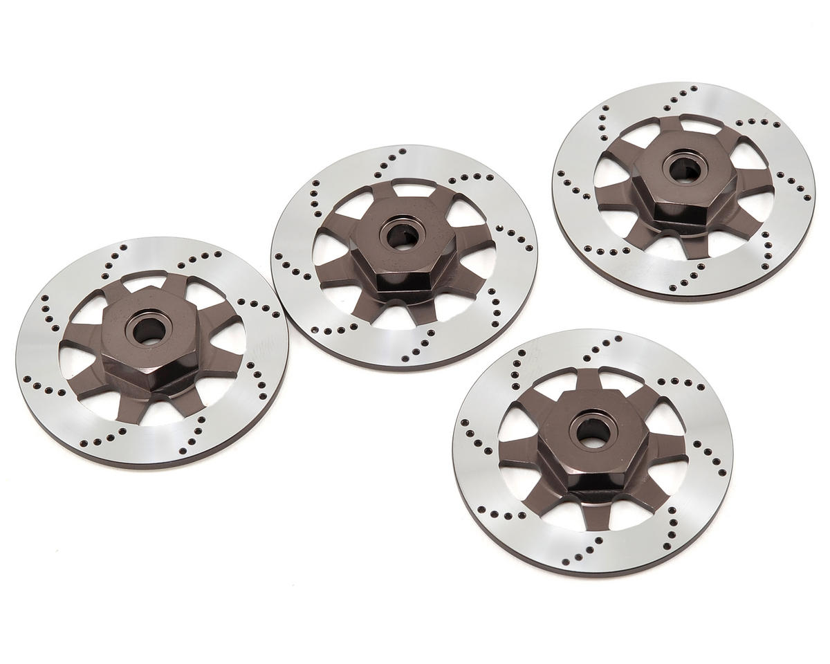 12mm Aluminum Hex/Brake Rotor Set (4) by Vaterra