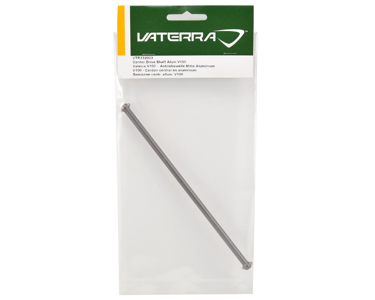 Aluminum Center Driveshaft (Grey) by Vaterra