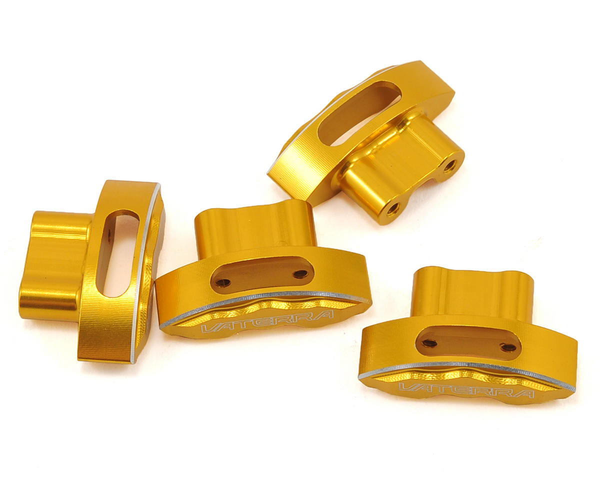 Aluminum Brake Caliper Set (Gold) (4) by Vaterra