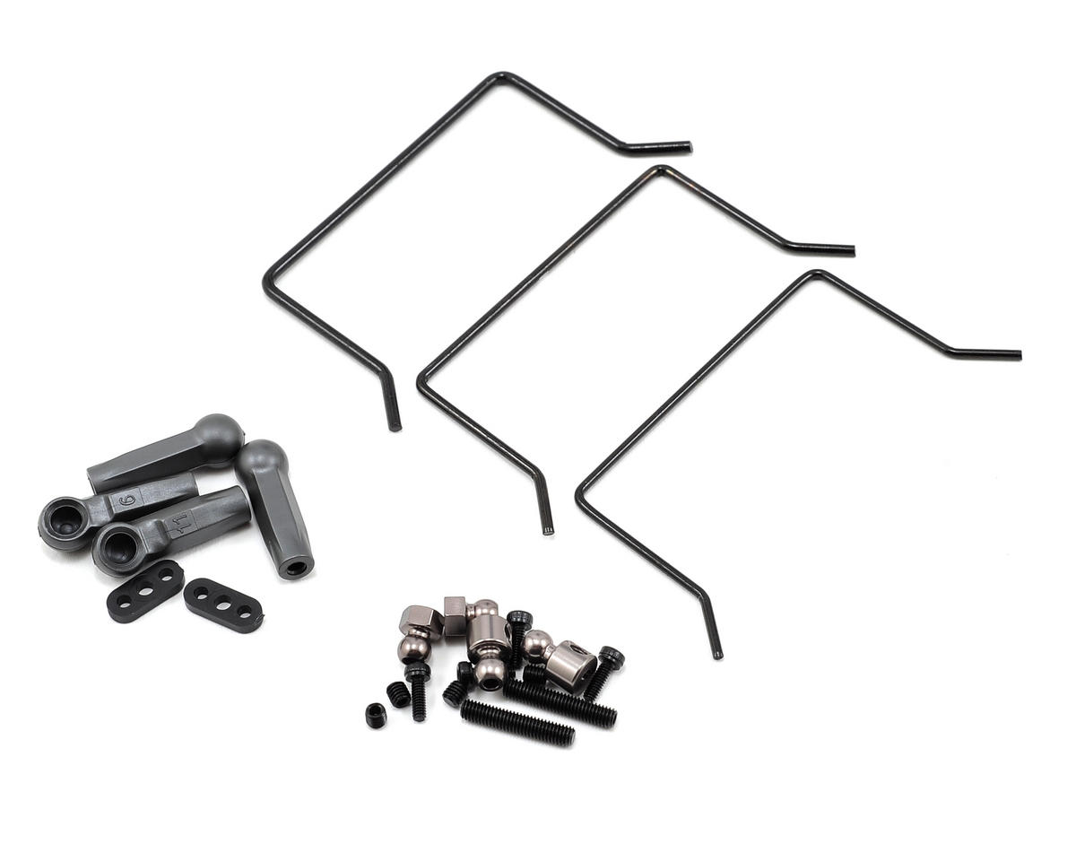 Rear Sway Bar Kit by Vaterra