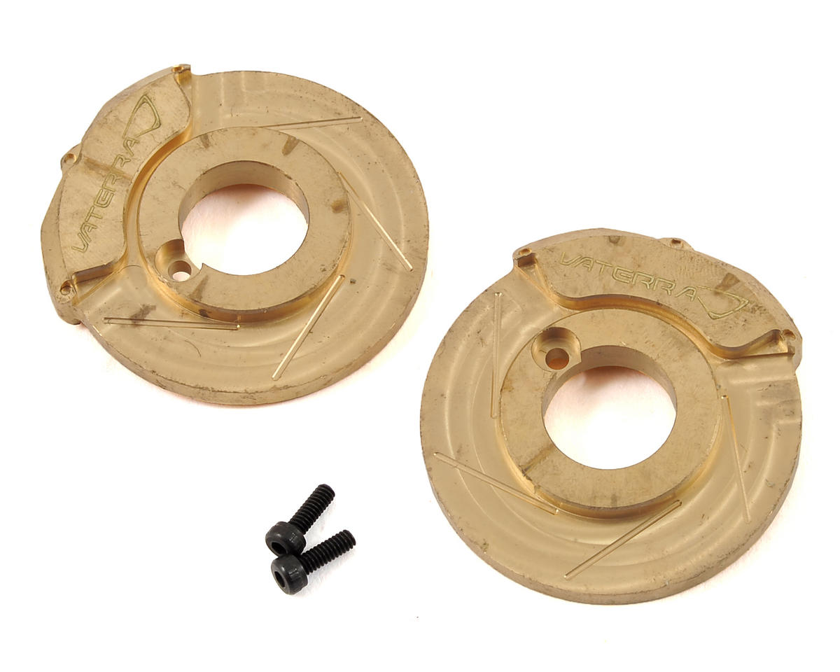 Ascender Brass Brake Caliper/Rotor Weight Set (2)