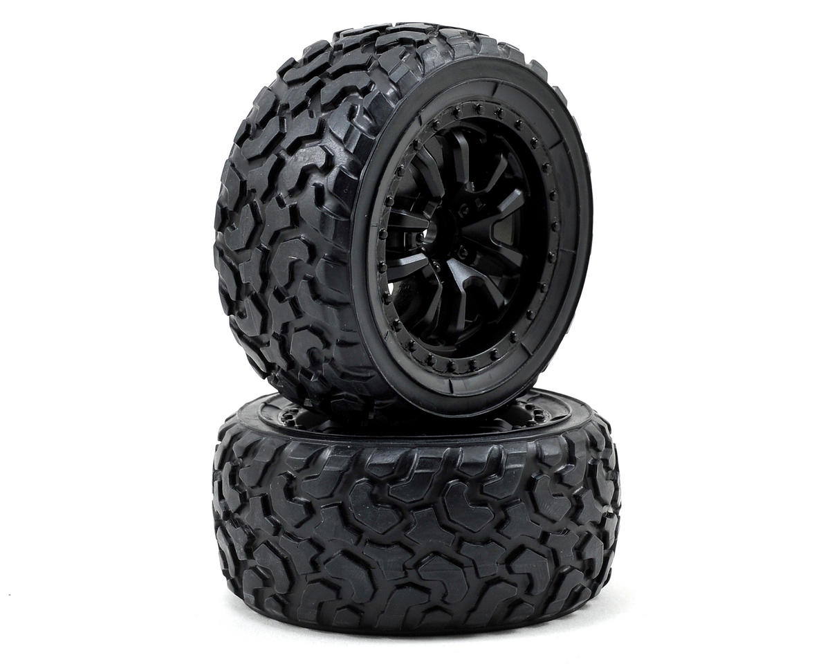 Vaterra Desert Spec Pre-Mounted Tire Set (2)