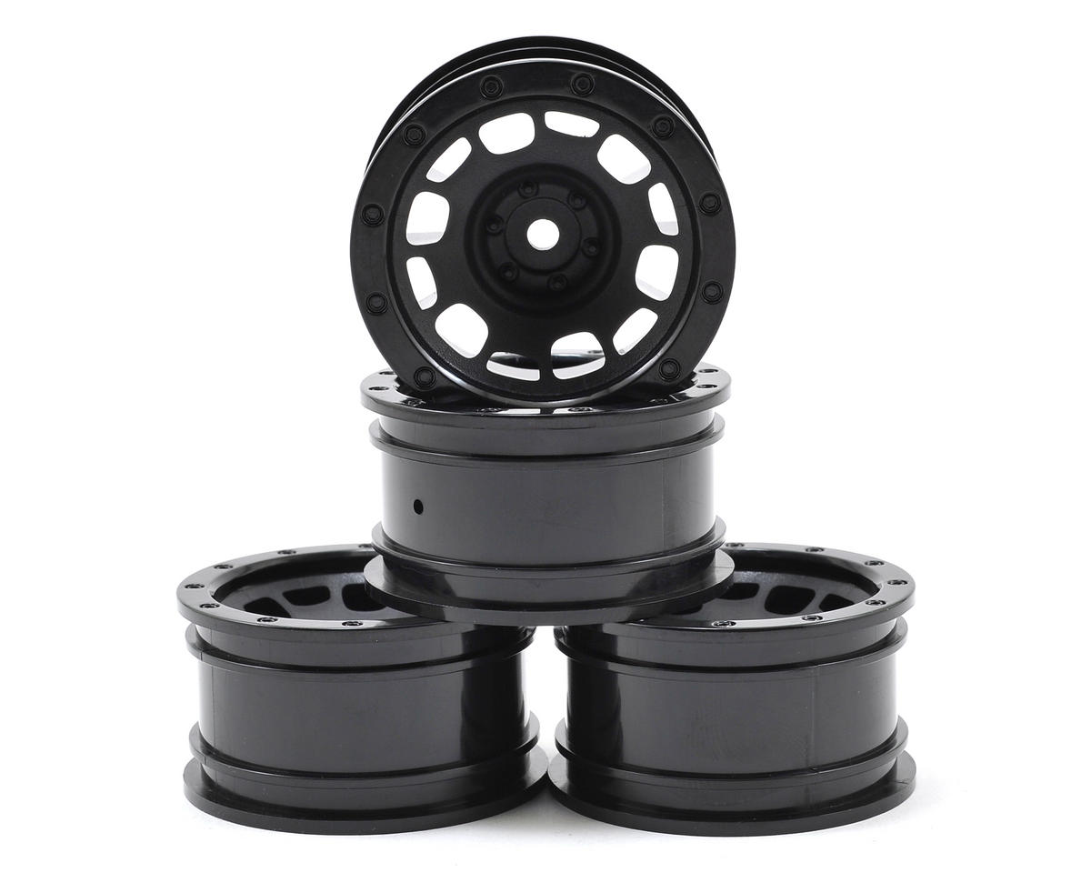 "1.9"" Rock Crawler Wheels (4) (Black)"