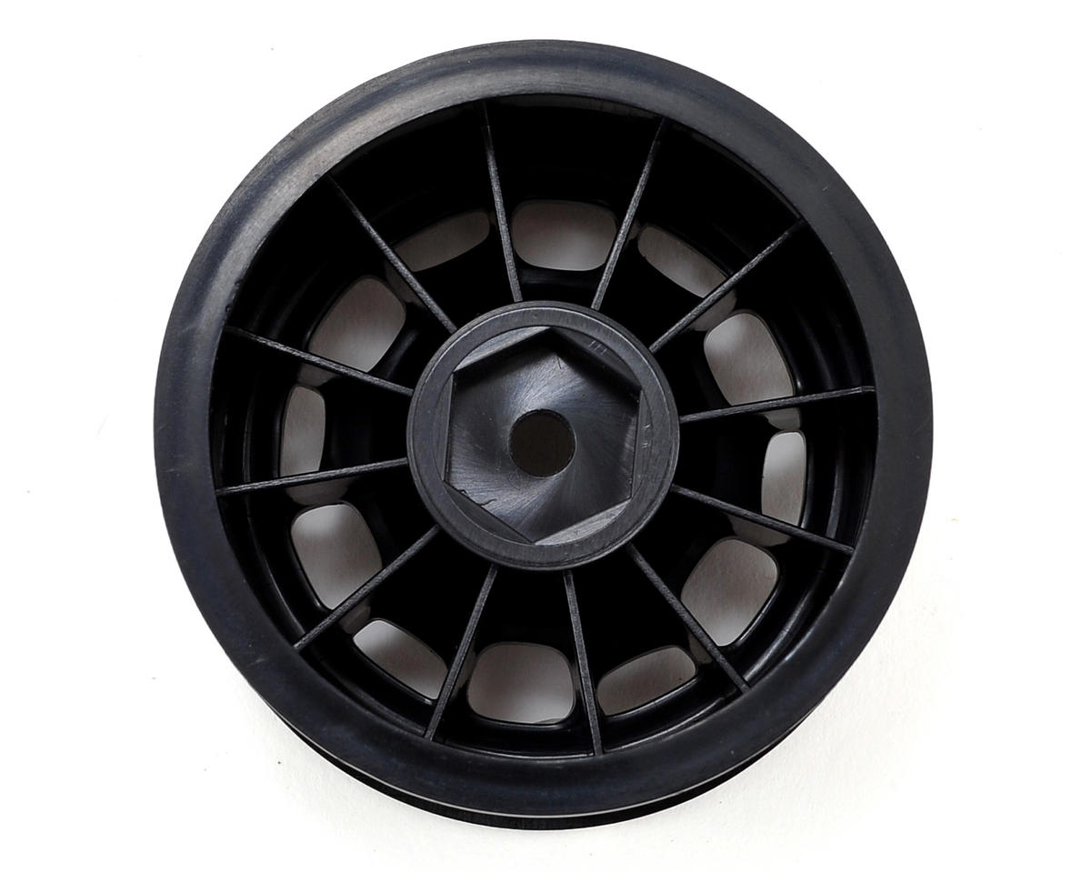 "Vaterra 1.9"" Rock Crawler Wheels (4) (Black)"