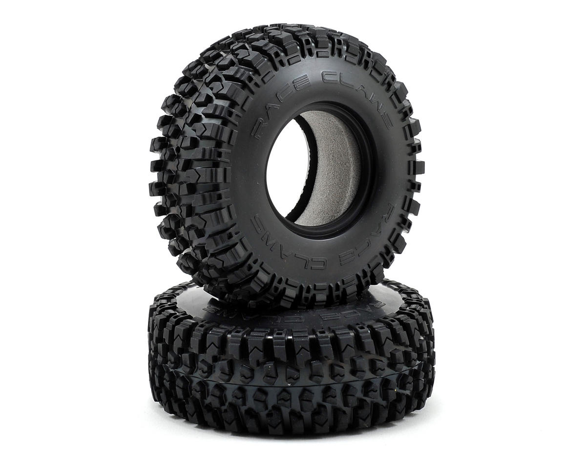 "Vaterra Race Claw 1.9"" Rock Crawler Tires w/Inserts (2)"