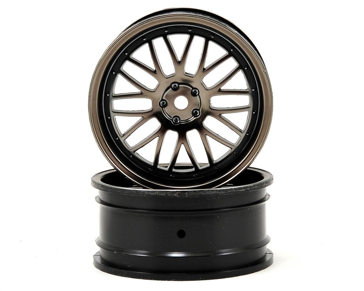 Vaterra 54x26mm Front Deep Mesh Wheel (2) (Matte Gun)
