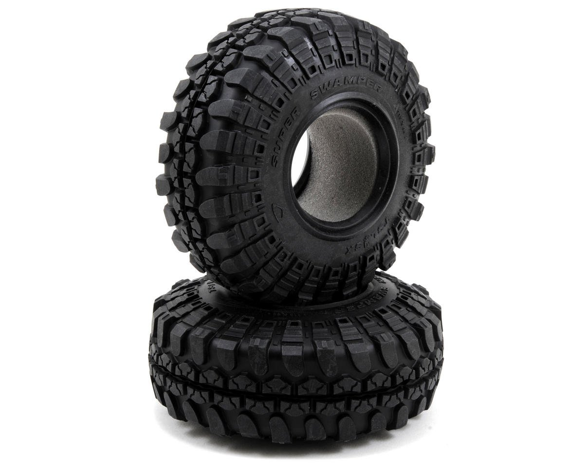 "Interco TSL SX Swamper 1.9"" Rock Crawler Tires (2) by Vaterra"