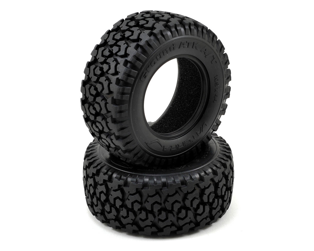 Tire w/Foam (2) by Vaterra