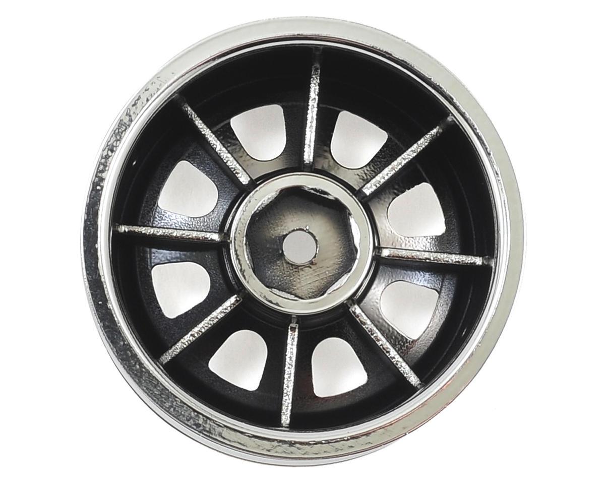 """Vaterra Ascender 8 Spoke 1.9"""" Rock Crawler Wheels (Chrome) (4)"""