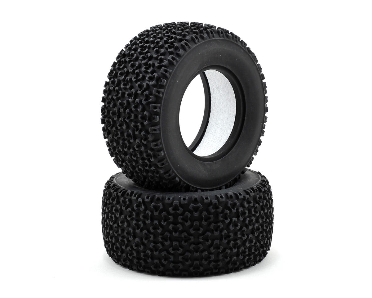 Tetrapod Rear Tire w/Foam (2) (Medium) by Vaterra