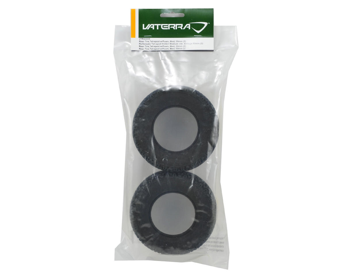 Vaterra Tetrapod Rear Tire w/Foam (2) (Medium)