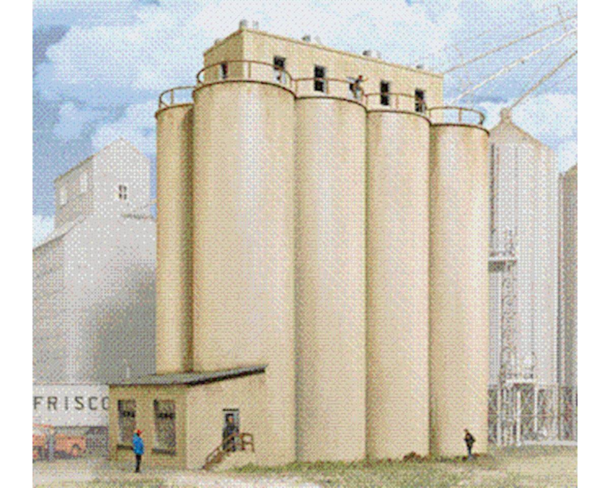 Walthers Head House w/Silos
