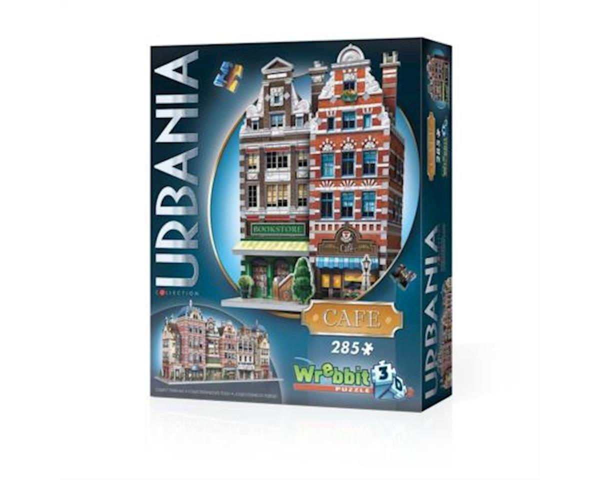 Wrebbit 3D Urbania Cafe 285 piece Puzzle