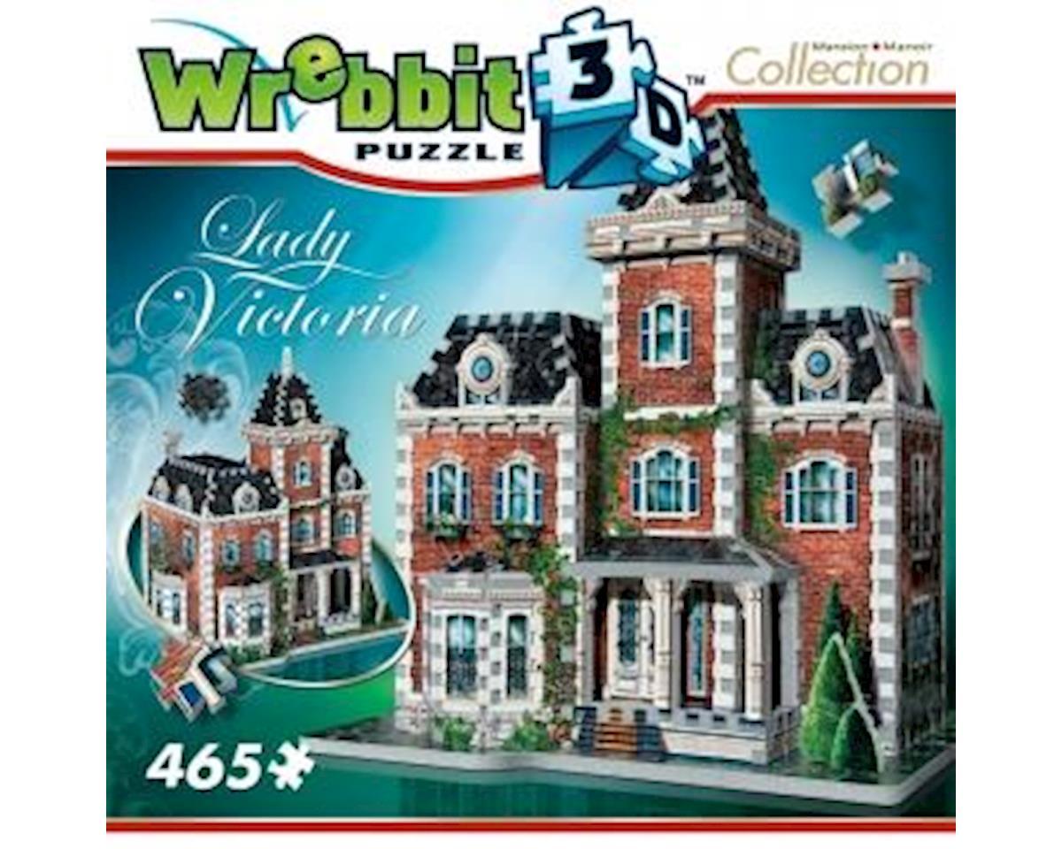 Wrebbit  3D Puzzle Victorian Cottage