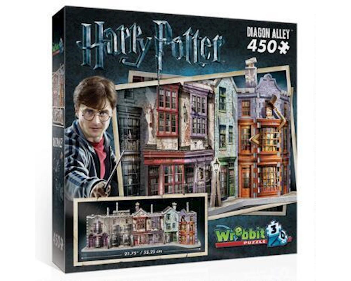 3D Diagon Alley 3D Jigsaw Puzzle (450 Pieces) by Wrebbit