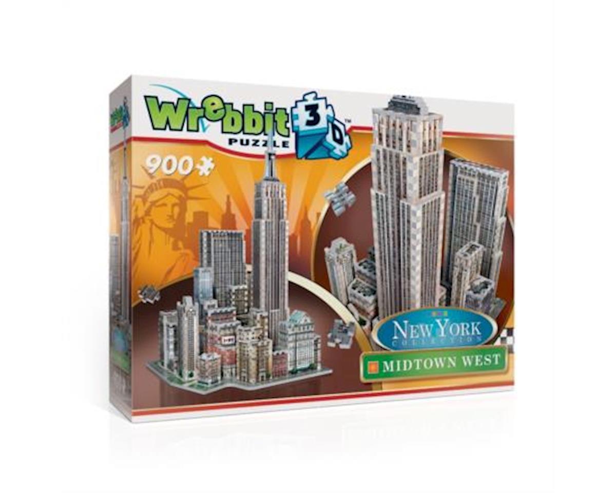 Wrebbit 3D 2010 3D Midtown West Puzzle
