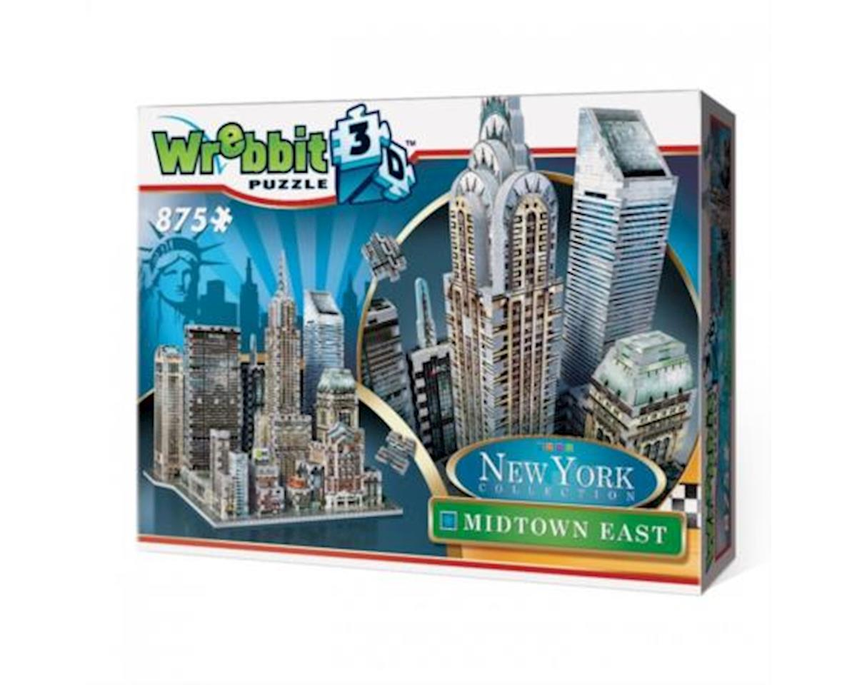 Nyc Midtown Chrysler Building 3D by Wrebbit