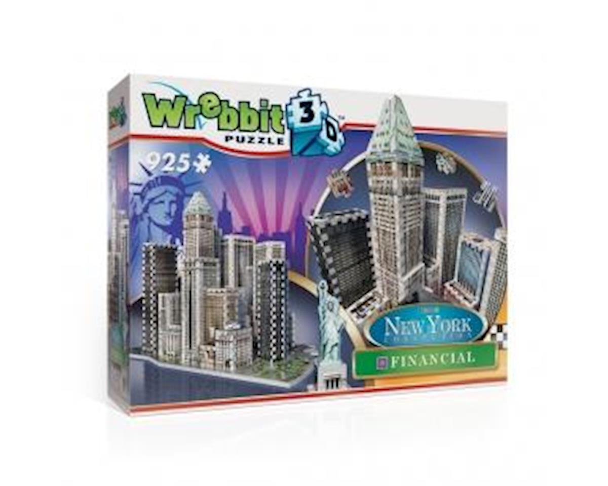 Wrebbit New York Financial 3D Puzzle