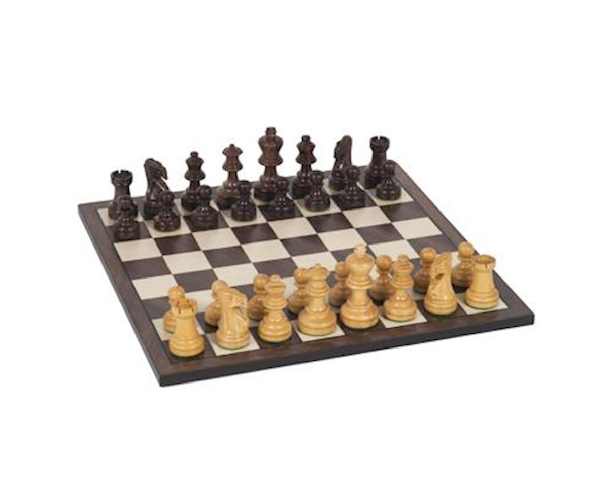 "Wooden Chess Set - 12"" Rosewood by Wood Expressions"