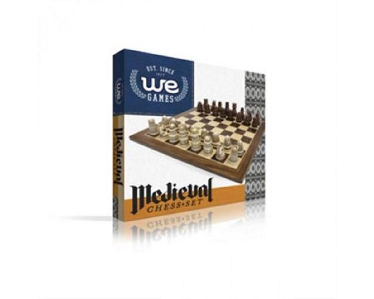 Wood Expressions 125415 Medieval Chess Set