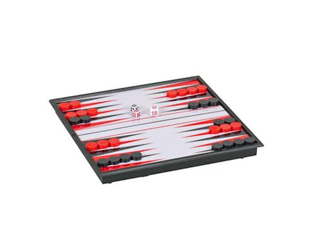 Wood Expressions WE Games 20-2508 Magnetic Backgammon Set - Small Travel Size