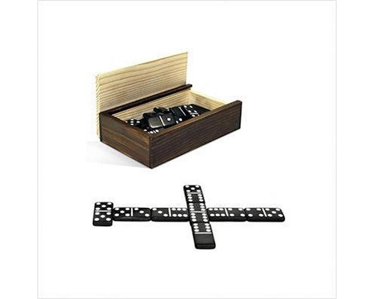 Wood Expressions  Double 6 Dominoes In Wooden Case