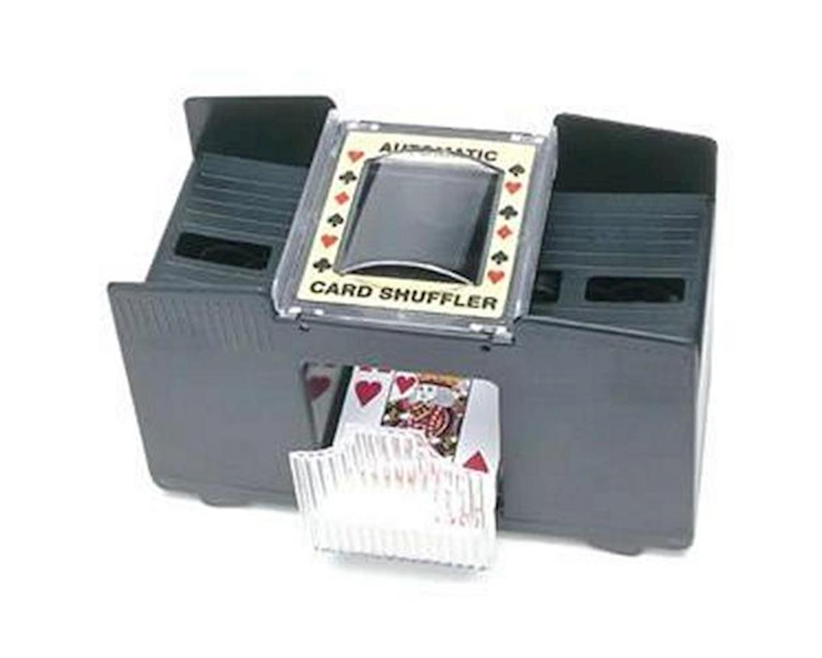 Wood Expressions 453200 Automatic Card Shuffler: 4-decks
