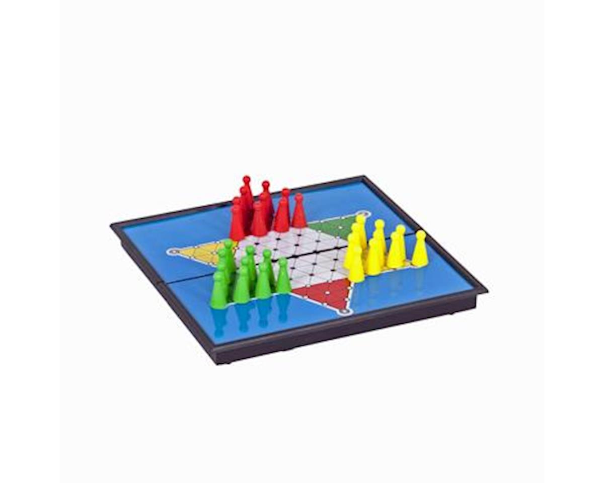Wood Expressions WE Games 49-3508 Magnetic Chinese Checkers -Small Travel Size