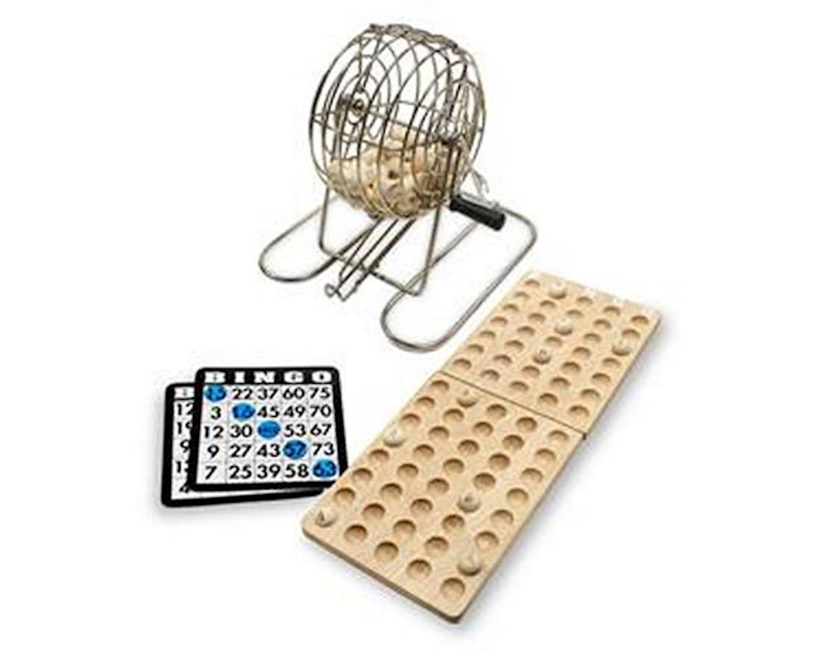Bingo Set With Wood Tray & Balls by Wood Expressions