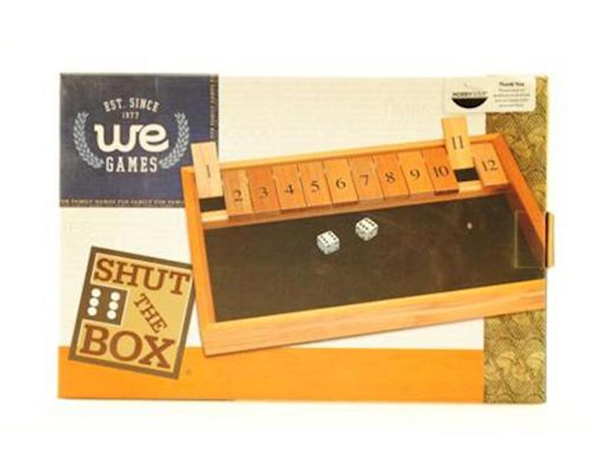 Wood Expressions  Deluxe Wood Shut The Box Game - 12 Numbers