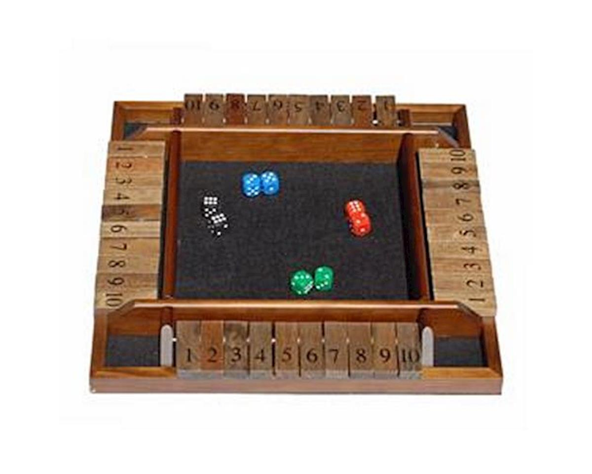 4-Player Shut-The-Box by Wood Expressions