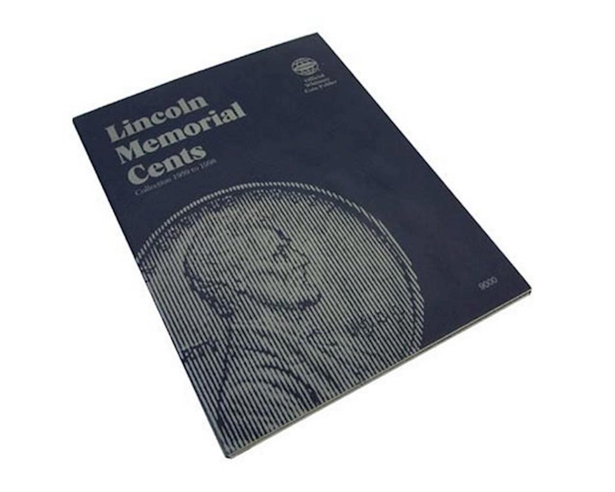 Folder Lincoln Memorial #1 1959-1998 by Whitman Coins