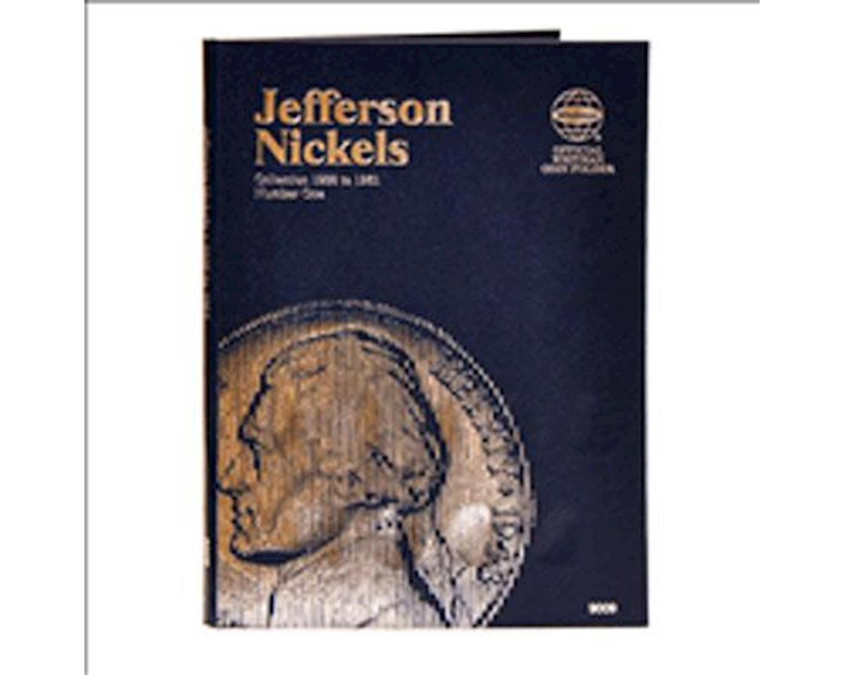 Jefferson Nickels 1938-1961 Coin Folder by Whitman Coins