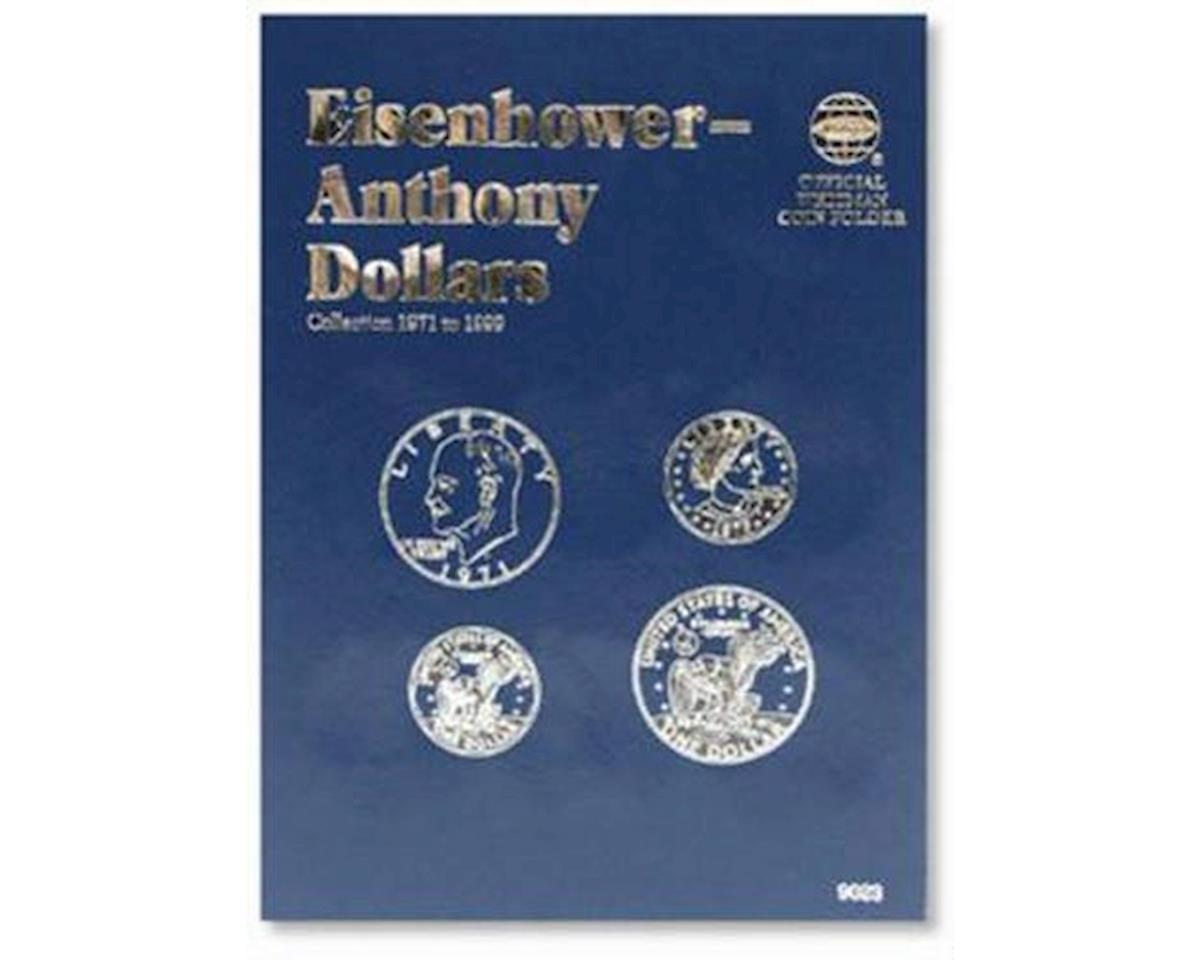 Eisenhower & Anthony Dollars 1971-1999 Coin Folder by Whitman Coins
