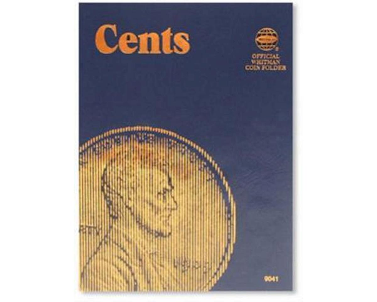 Whitman Coins Cents Plain Coin Folder