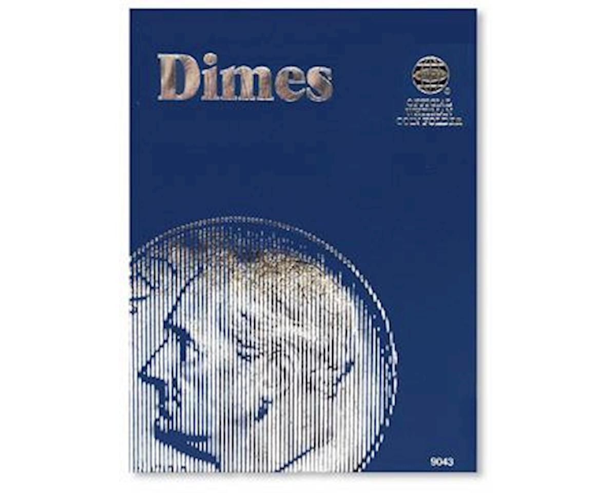 Dimes Plain Coin Folder by Whitman Coins