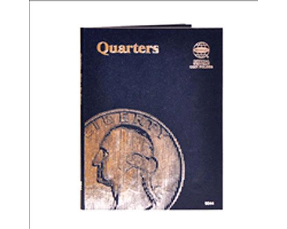 Quarters Plain Coin Folder by Whitman Coins
