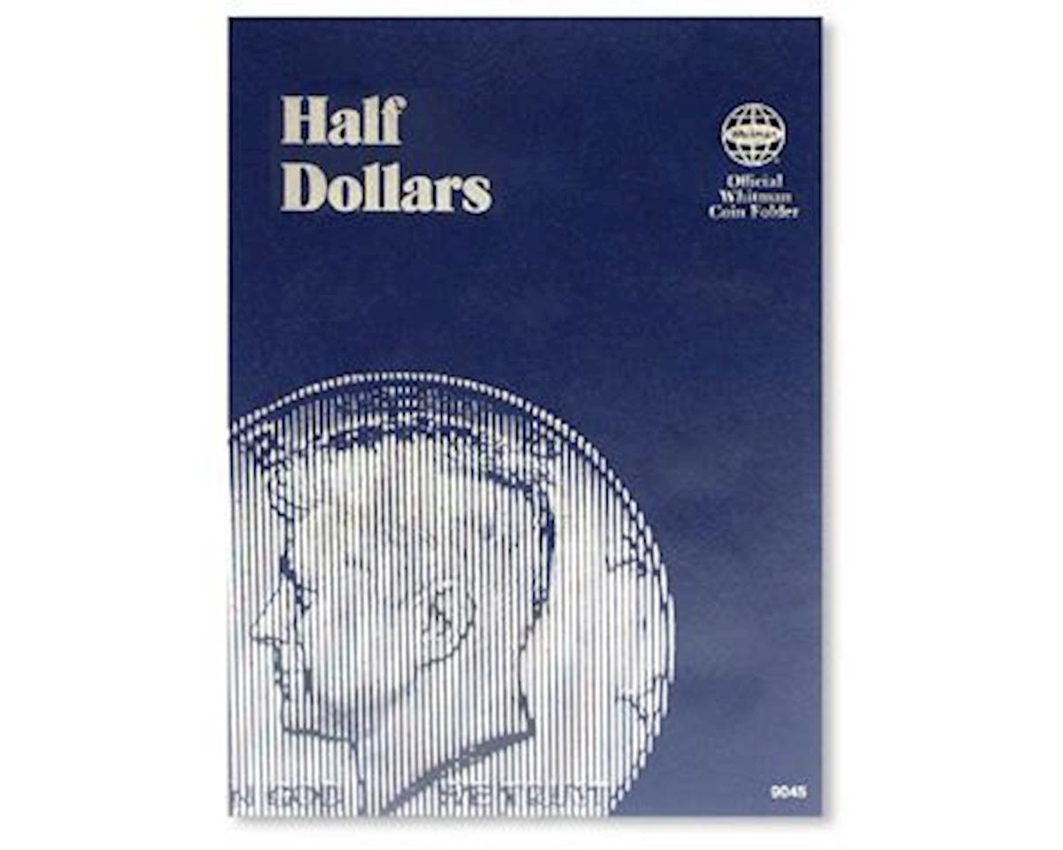 Half Dollars Plain Coin Folder by Whitman Coins
