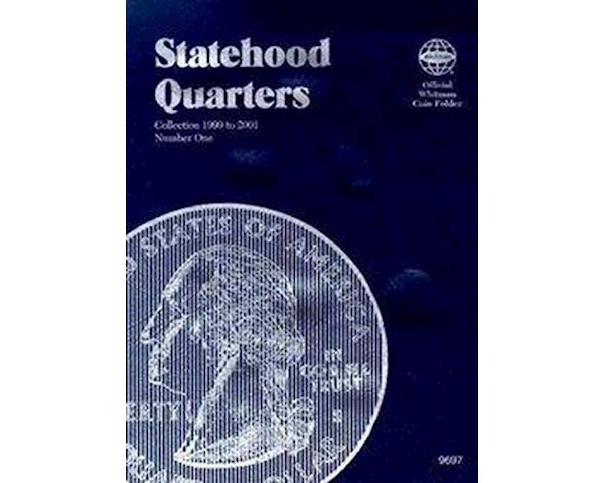 Statehood Quarter Folder '99-'01 by Whitman Coins
