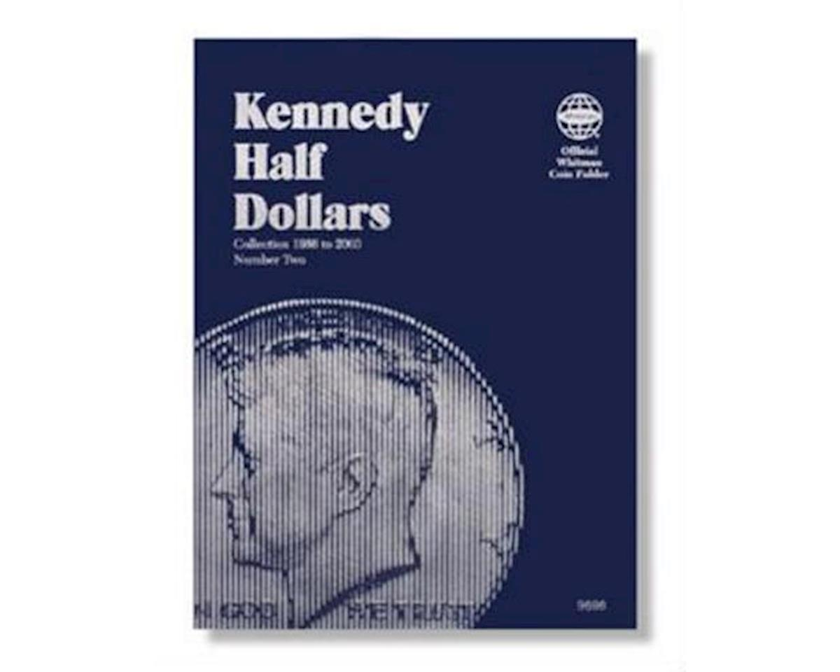 Kennedy Half Dollar Folder 2 1986-99 by Whitman Coins